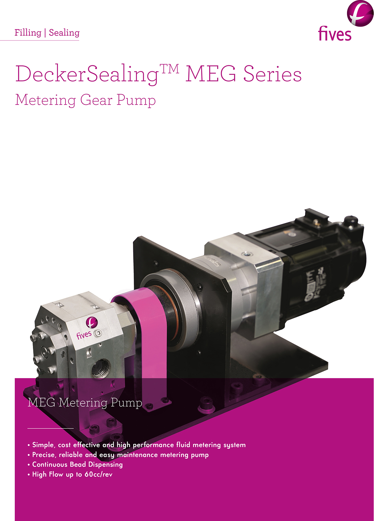 Download-FIVES SEALING Metering Gear Pump-FIVES