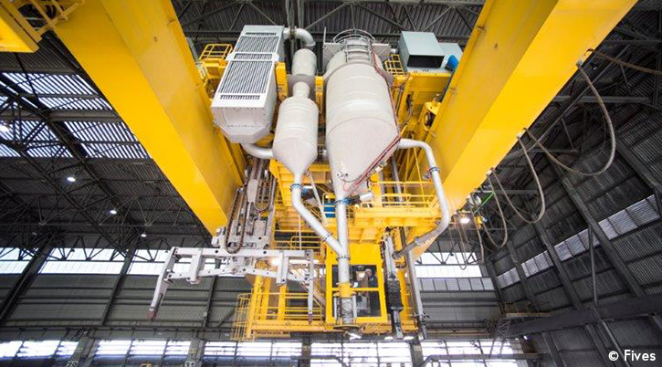 Fives Aluminium EGA Furnace-FIVES