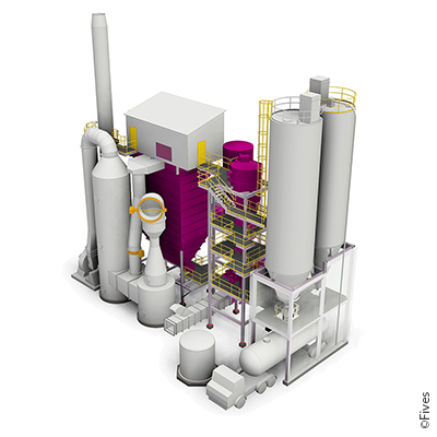 Reactor-bag-filter baghouse fgd desulfurization NOx-control Chlorine Acid-gas heavy-metals particulates-removal emission flue-gas-cleaning Waste-to-energy Lime-Injection-tars incineration gasification VOC 5-FIVES