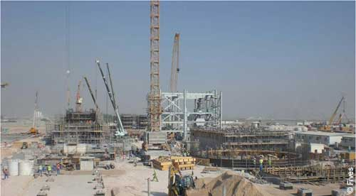 Fives Aluminium Qatalum Construction EPC-FIVES