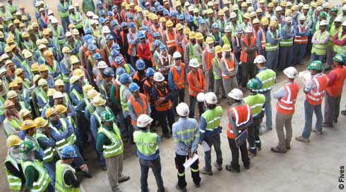 Fives Aluminium project management safety-FIVES