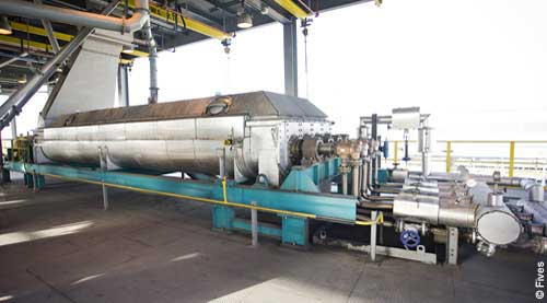 Fives Aluminium Preheating Screw for paste preparation Sohar-FIVES