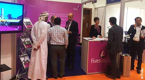 Aluminium news Fives renews its participation at the Aluminium Middle East 2017 exhibition mai17-FIVES