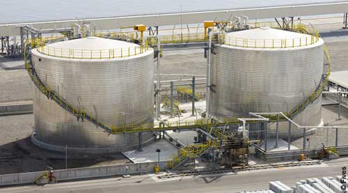 Fives Aluminium Pitch Liquid pitch terminal Sohar-FIVES