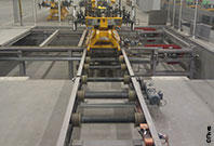 CFC Roller conveyor for heavy loads