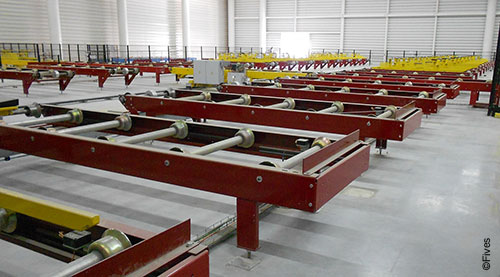 CFC Roller conveyor