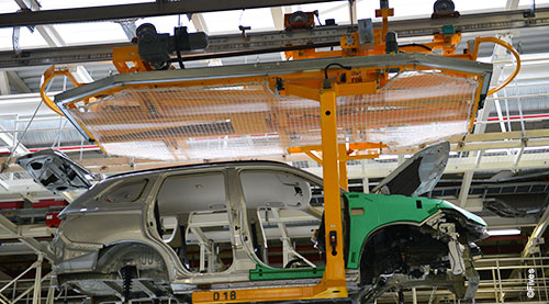Overhead conveyor CFC EMS or automotor