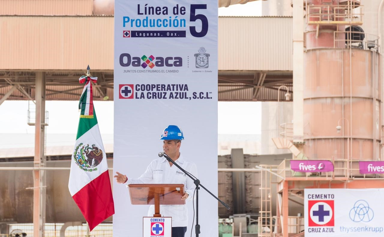 Alejandro Murat Hinojosa, Governor of Oaxaca State during his speech