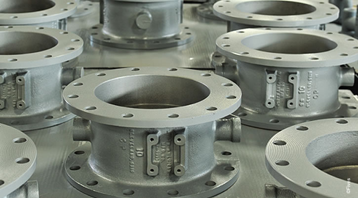 North American Series 1126 Butterfly Valves in Assembly-FIVES