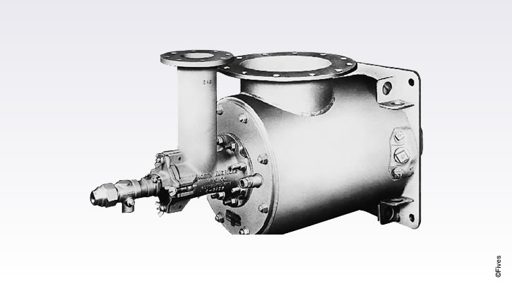North American Series 6795 Dual-Fuel Burner with Compressed air Atomization-FIVES