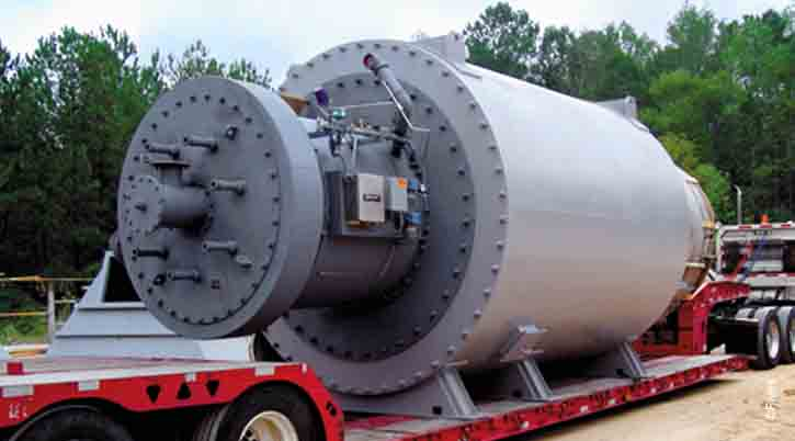 North American Magna Flame LEx Burner Gypsum Calcining HGG-FIVES