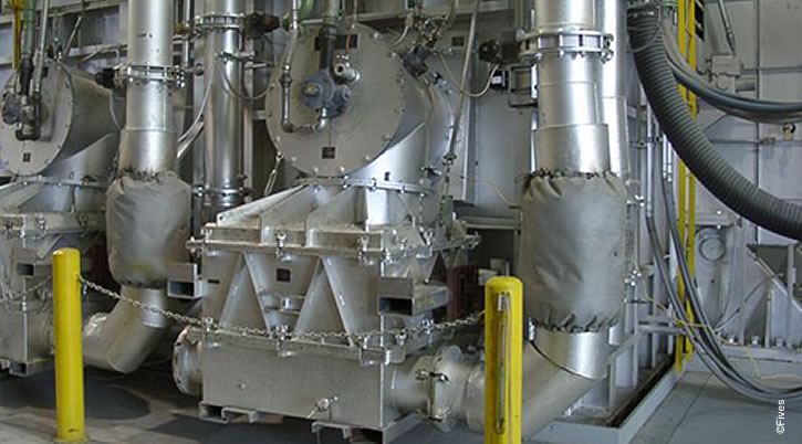North American TB II  Regenerative System on Aluminum Melter with Cassette Beds-FIVES