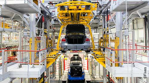 Fives and JLR Assembly Line news-FIVES