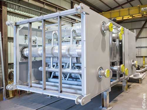 Fives Cryogenics Equipment ColdBoxes 4-FIVES