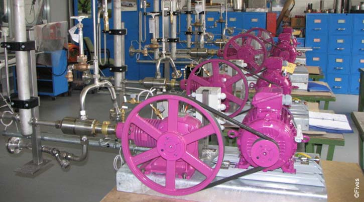 Fives Cryogenics Equipment PistonPumps Cryomec LPRP-FIVES
