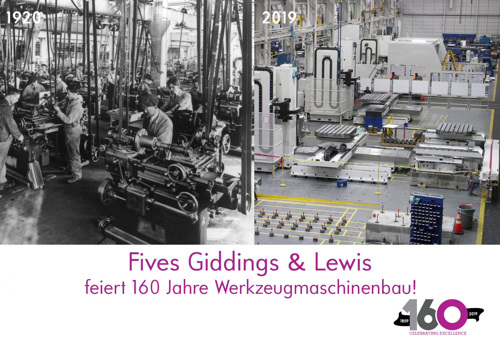 Fives Giddings and Lewis Factory