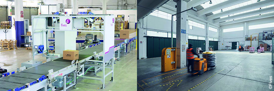 Fives data capture and dimensioning for parcels and pallets