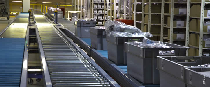 Third Party Logistics solutions - Order fulfillment line in a warehouse