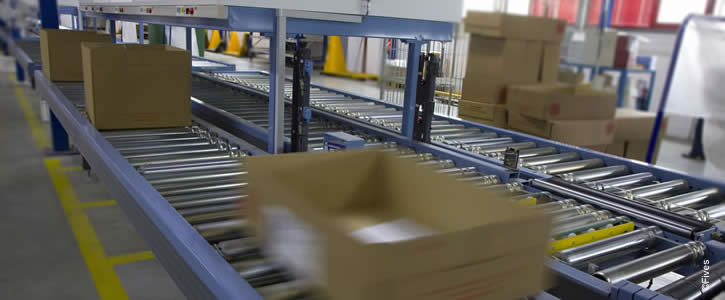 Intralogistics media order fulfillment system and order returns management solutions