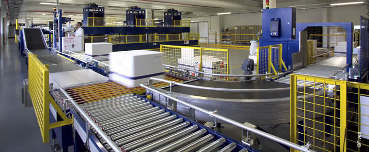 Automated order fulfillment solutions for the pharmaceutical industry handling extreme workflow variations