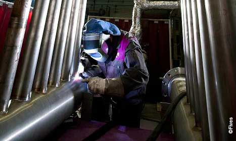 Fives manufacturing capacities welding 1-FIVES