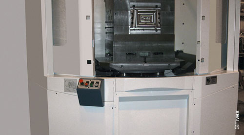 Fives metal cutting composites Cincinnati Mega lower web 2-FIVES