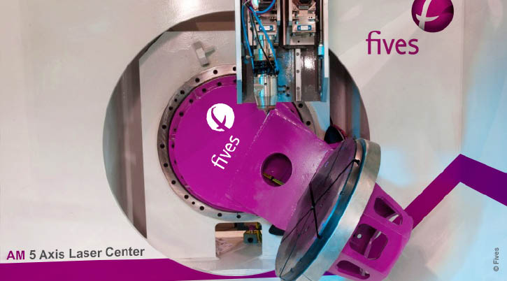 AM 5 axis controlled-FIVES