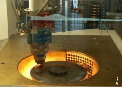 Laser cutting machine for clutch discs-FIVES
