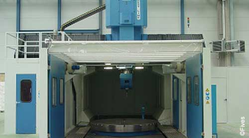 Fives metal cutting composites MODUMILL Ti 2-FIVES