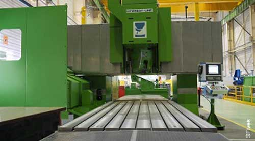 Fives metal cutting composites MODUMILL Ti 5-FIVES