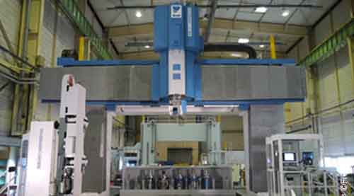 Fives metal cutting composites Mill3-FIVES