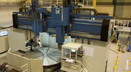 Fives metal cutting composites Mill4-FIVES