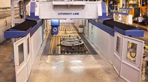 Fives metal cutting composites forts line modumill3-FIVES
