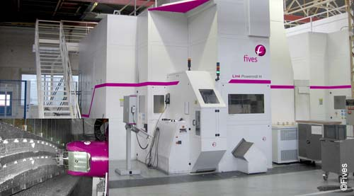 Fives metal cutting composites powermillH-FIVES