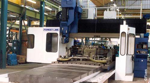 Fives metal cutting composites serimill5-FIVES