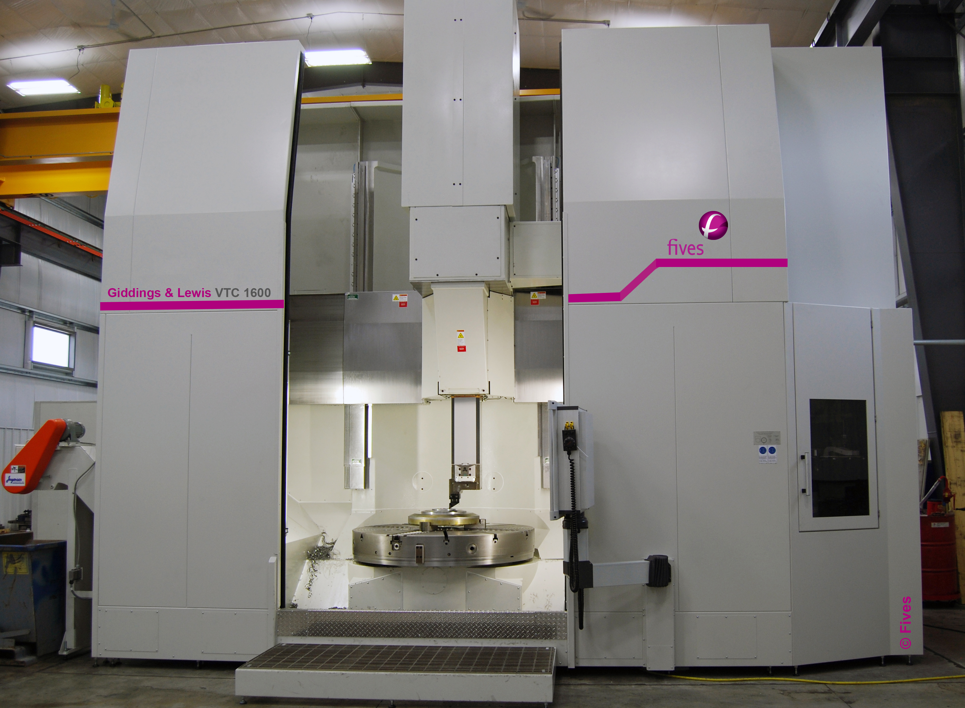 Giddings&Lewis Vertical Turning center 1600
