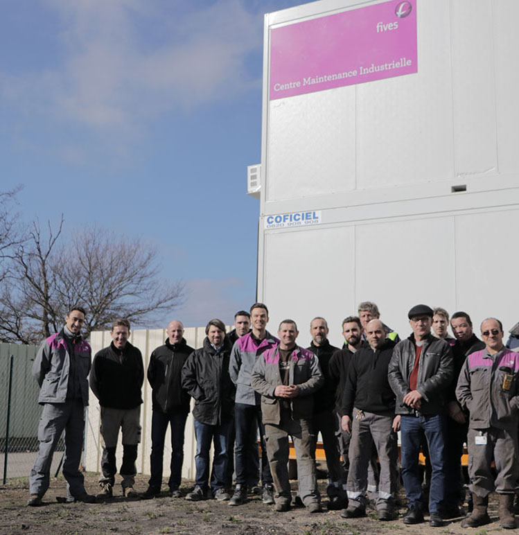 inauguration base vie Fives Nordon bis-FIVES