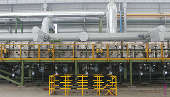 NeoKoil, stainless steel processing lines