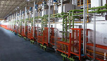 Rapid cooling for strip processing lines