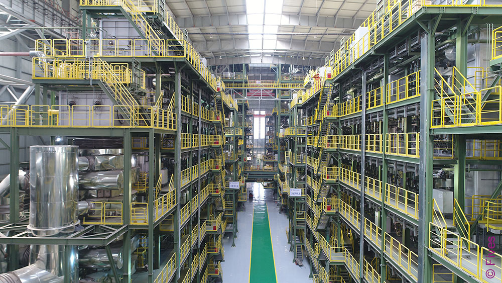 Fives' continuous galvanizing line at Baotou Iron and Steel