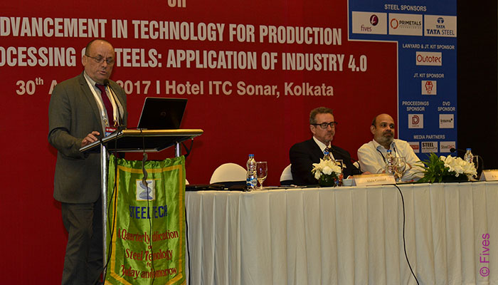 Fives presentation at Steel Tech seminar in India