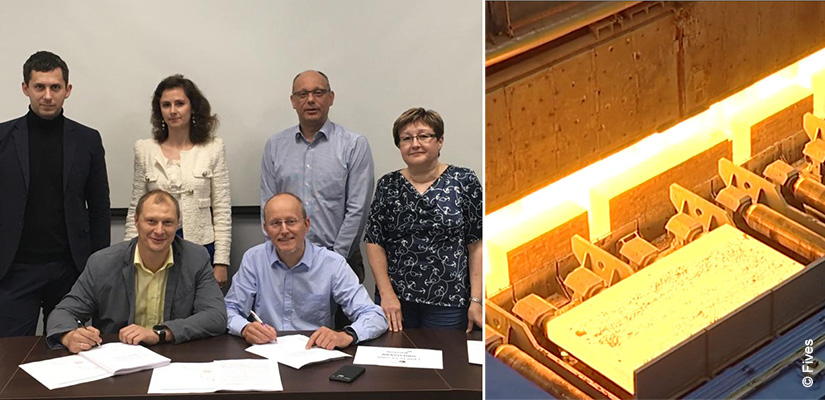 Severstal and Fives: reheating furnace contract