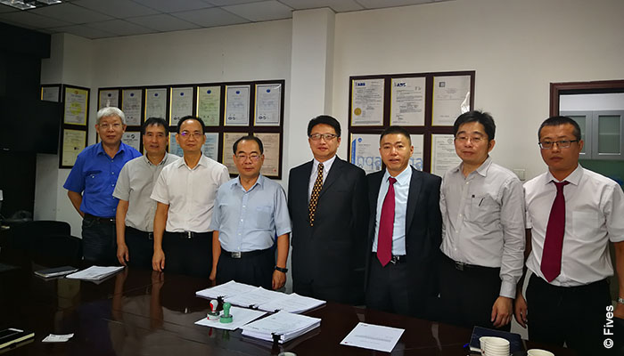 Fives and Yantai Walsin: reheating furnace contract
