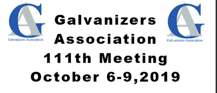 Galvanizers Association Meeting 2019