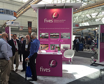 Fives' stand at AISTech 2016