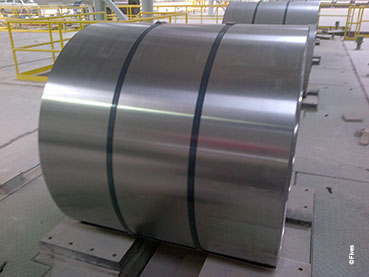 First coil at Baotou's annealing line from Fives