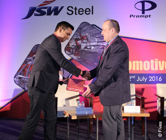 Fives at Automotive Summit in India