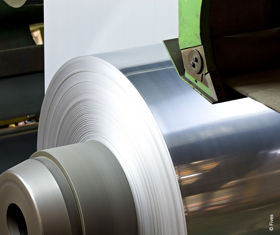 Coil from NeoKoil® strip processing lines from Fives