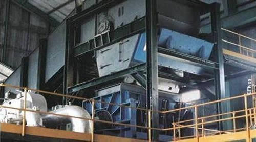 Sugar BioEnergy heavy duty vertical shredder 2-FIVES